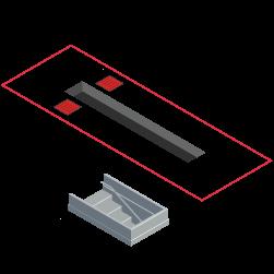 elevador foso compatible con alineadora de dirección fcar fd305