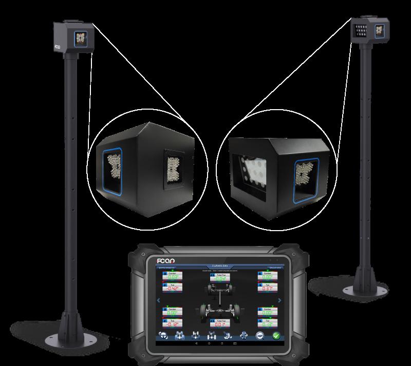 fcar-fd305-alineadora-de-direccion-con-software-en-tablet